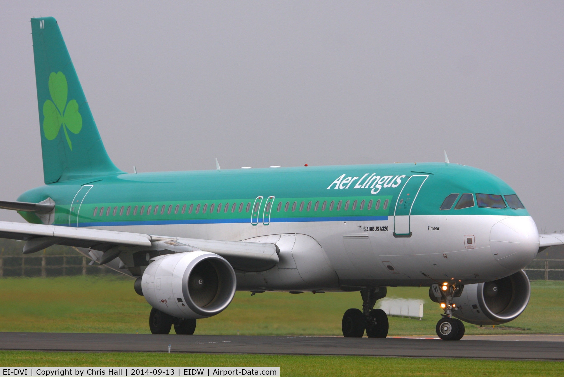 EI-DVI, 2008 Airbus A320-214 C/N 3501, Aer Lingus