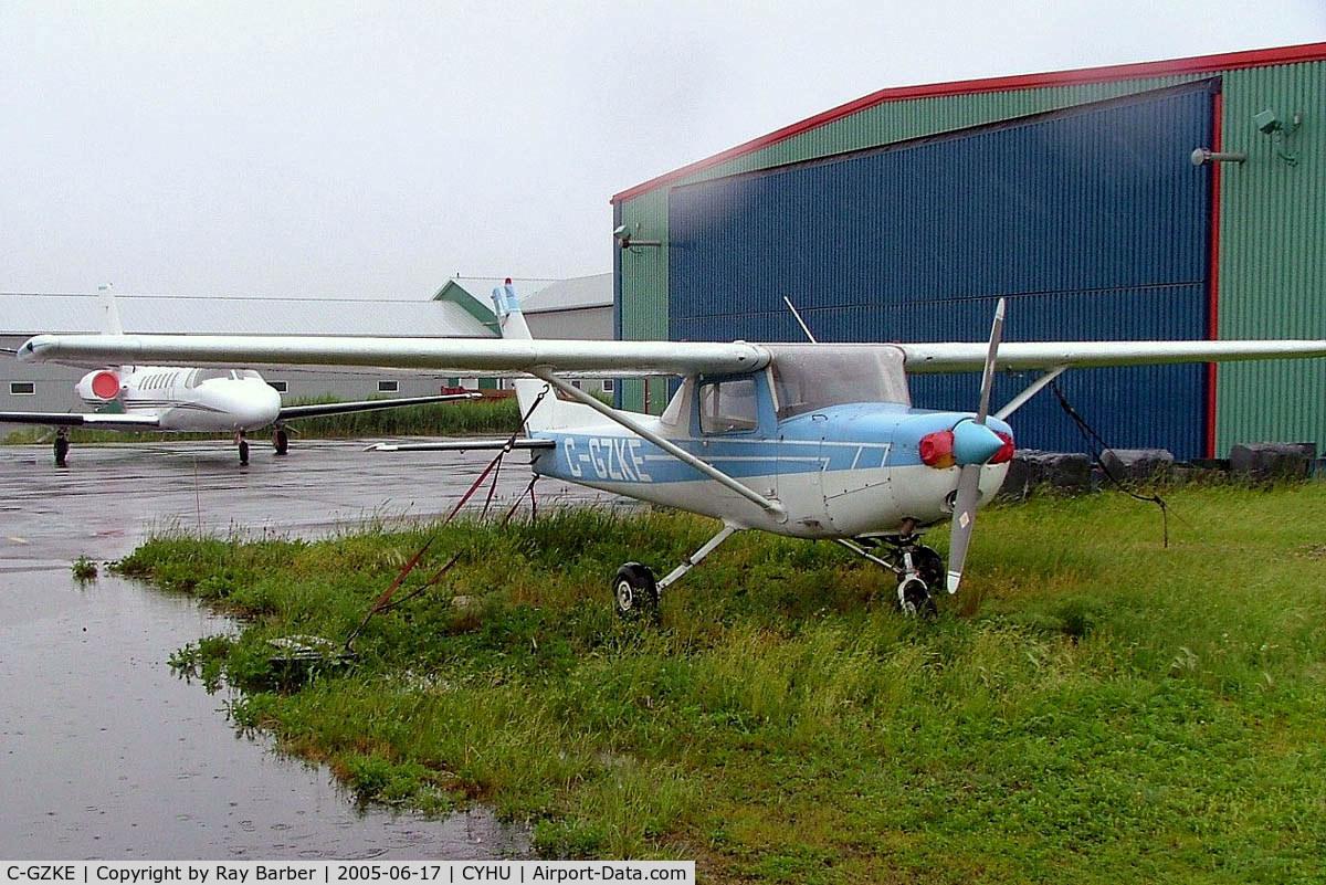 C-GZKE, 1977 Cessna 152 C/N 15280273, Cessna 152 [152-80273] St. Hubert~C 17/06/2005