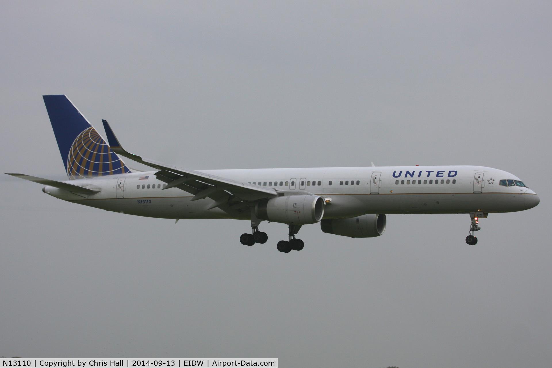 N13110, 1994 Boeing 757-224 C/N 27300, United