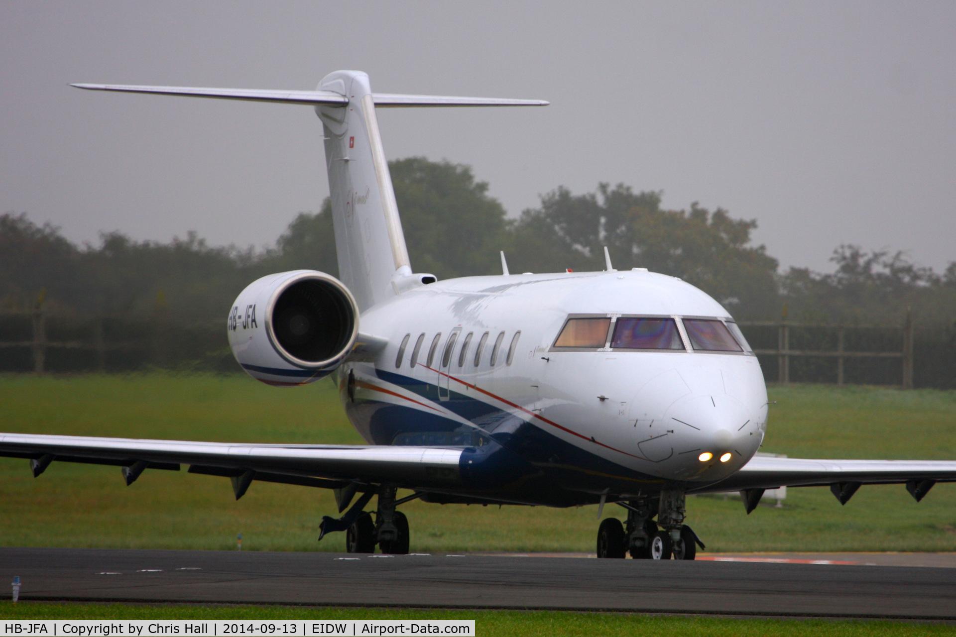 HB-JFA, 2007 Bombardier Challenger 605 (CL-600-2B16) C/N 5715, Nomad Aviation