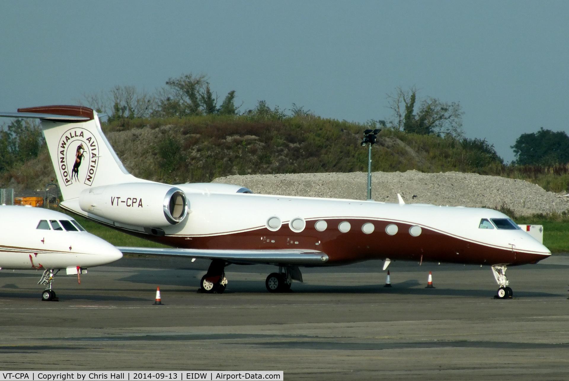 VT-CPA, 2013 Gulfstream Aerospace V-SP G550 C/N 5427, Poonawalla Aviation