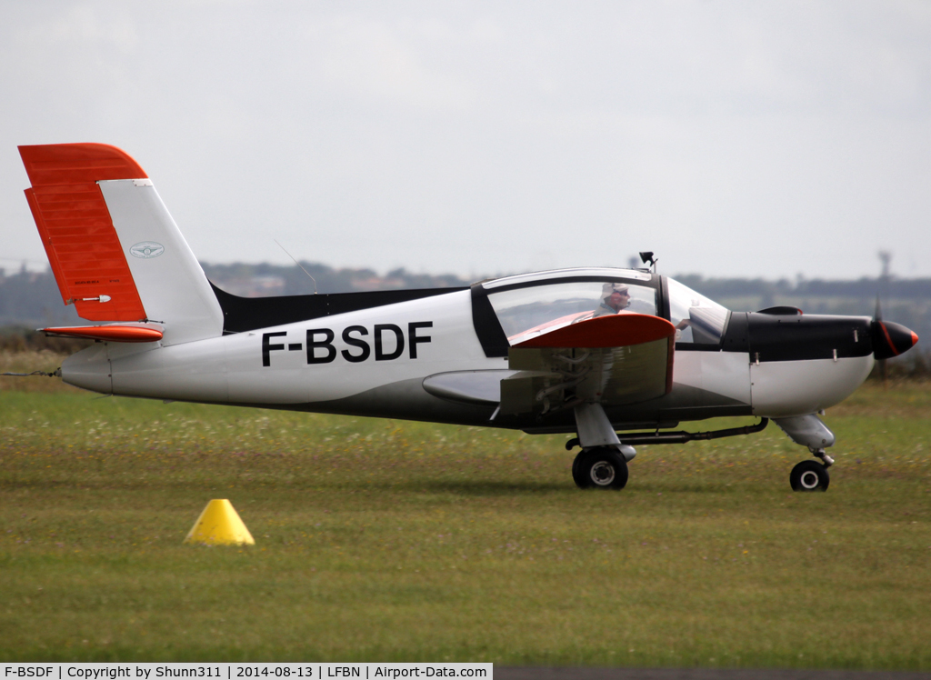 F-BSDF, Socata MS-893A Rallye Commodore 180 C/N 11478, On take off with glider sessions... new c/s