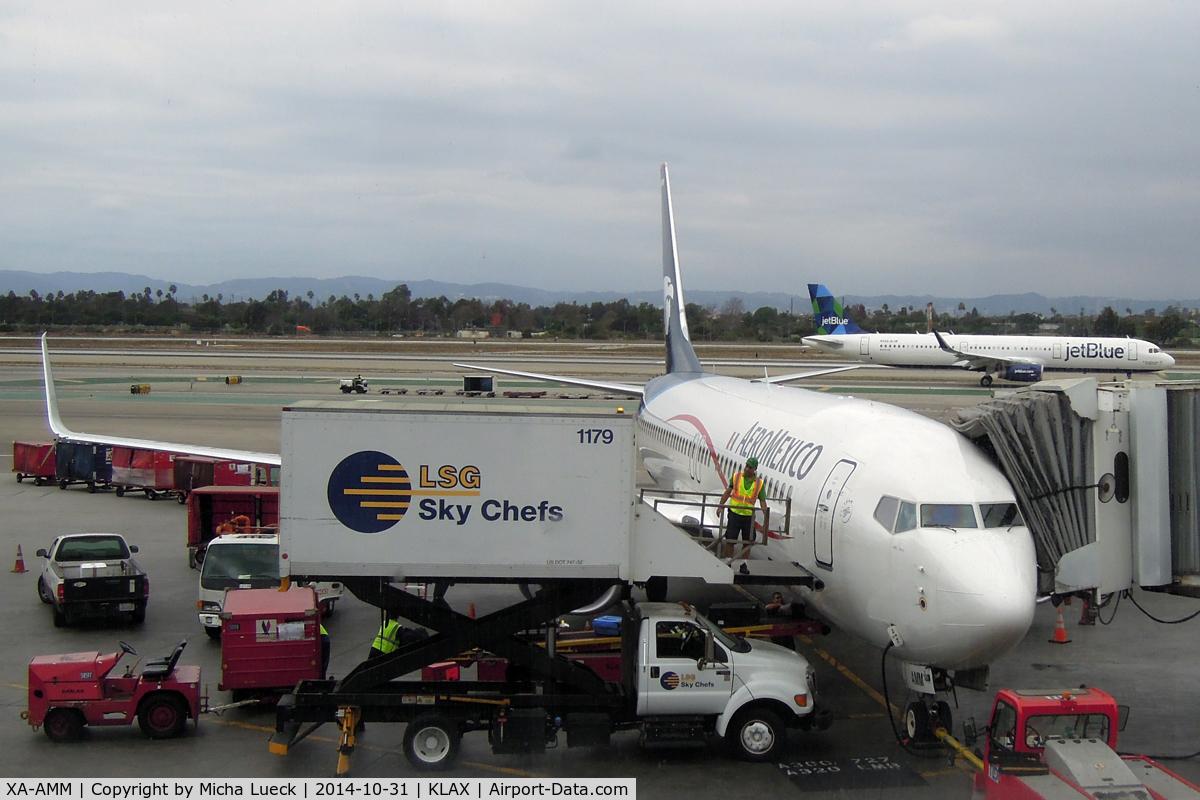 XA-AMM, 2014 Boeing 737-852 C/N 39944, At LAX