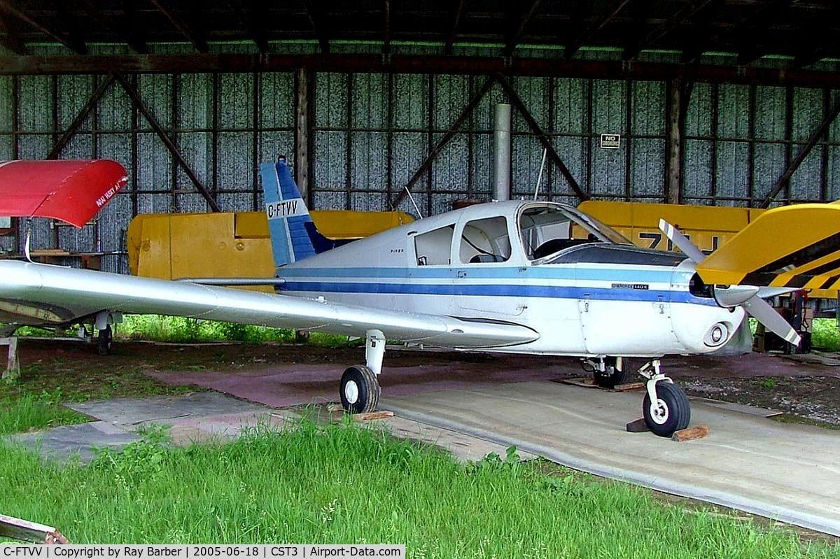 C-FTVV, 1971 Piper PA-28-140 C/N 287225123, Piper PA-28-140 Cherokee E [28-7225123] Saint-Lazare~C 18/06/2005