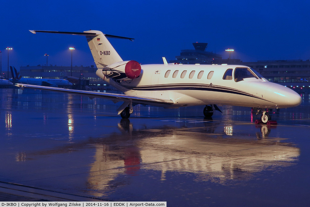 D-IKBO, 2007 Cessna 525A CitationJet CJ2+ C/N 525A-0357, visitor