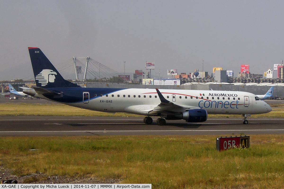 XA-GAE, 2014 Embraer 190LR (ERJ-190-100LR) C/N 19000664, At Mexico City