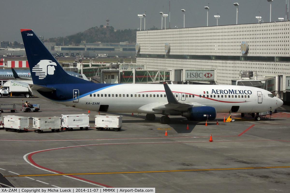 XA-ZAM, 2007 Boeing 737-852 C/N 35120, At Mexico City