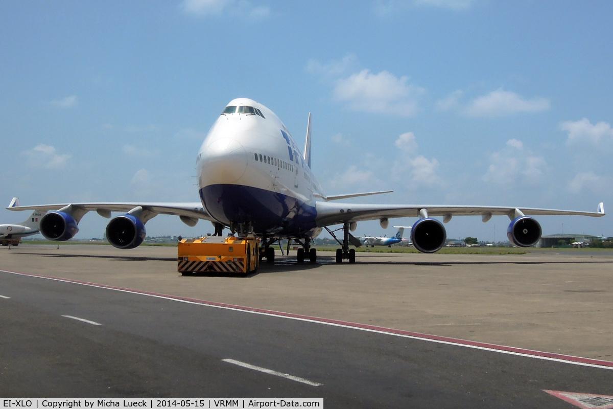 EI-XLO, Boeing 747-412 C/N 28025, At Malé