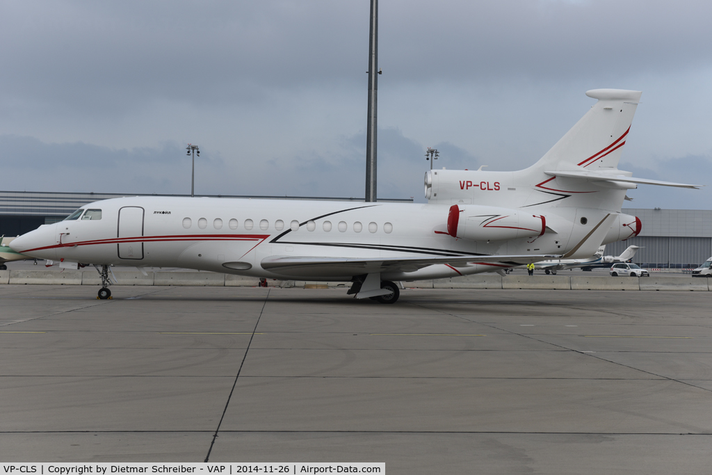 VP-CLS, 2014 Dassault Falcon 7X C/N 226, Lukoil Falcon 7X