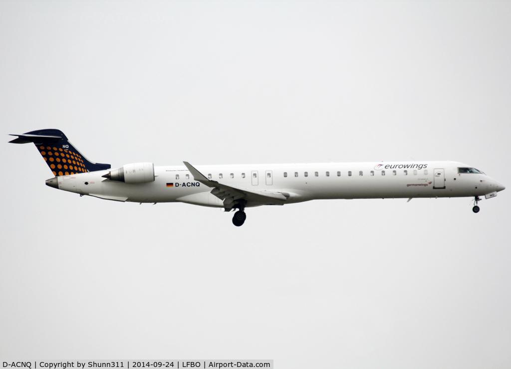 D-ACNQ, 2010 Bombardier CRJ-900LR (CL-600-2D24) C/N 15260, Landing rwy 32L