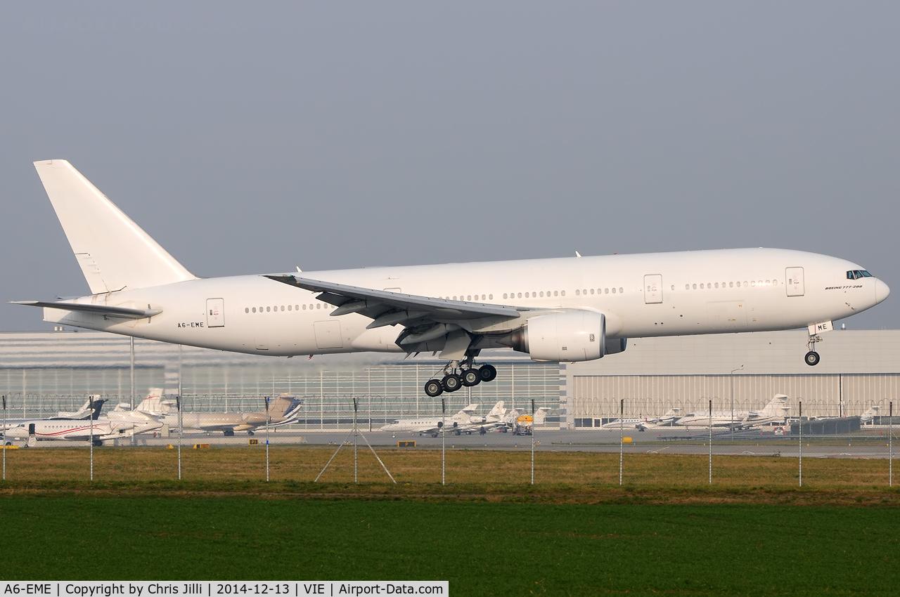 A6-EME, 1996 Boeing 777-21H C/N 27248, Emirates