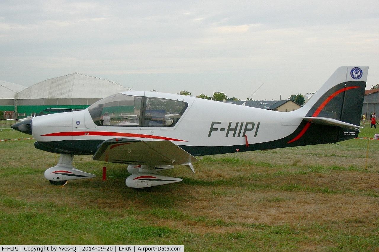 F-HIPI, Robin DR-400-120 Petit Prince C/N 2662, Robin DR-400-120 Petit Prince, Rennes St Jacques flying club (LFRN-RNS) Air show 2014