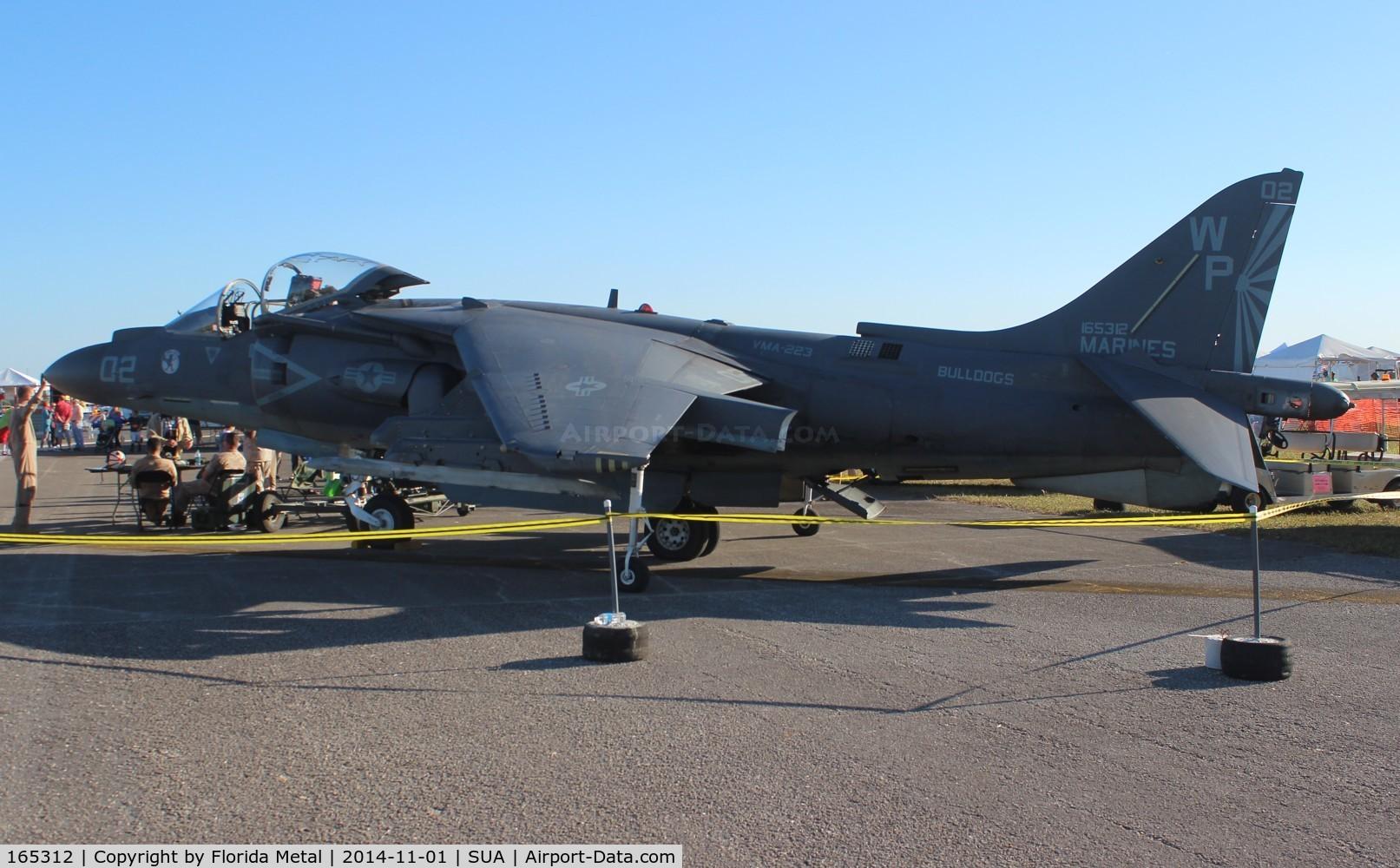 165312, Boeing AV-8B+(R)-24-MC C/N 270, AV-8B