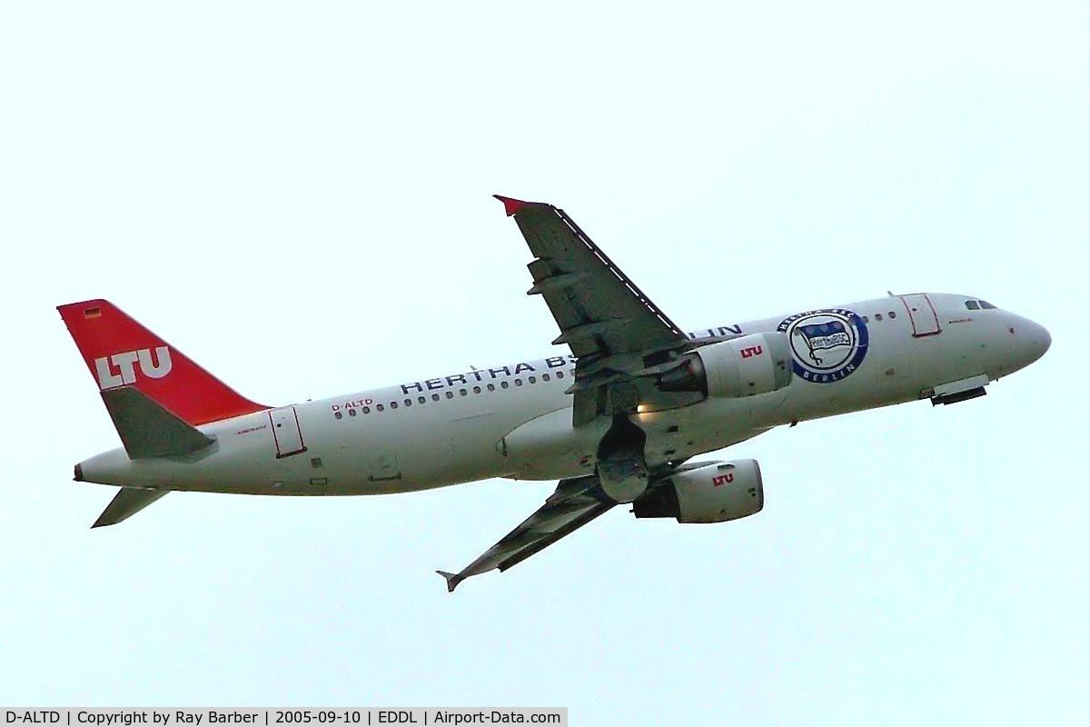D-ALTD, 2001 Airbus A320-214 C/N 1493, Airbus A320-214 [1493] (LTU) Dusseldorf~D 10/09/2005