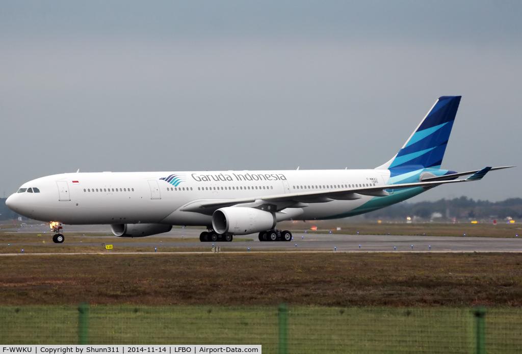 F-WWKU, 2014 Airbus A330-343 C/N 1585, C/n 1585 - To be PK-GPW