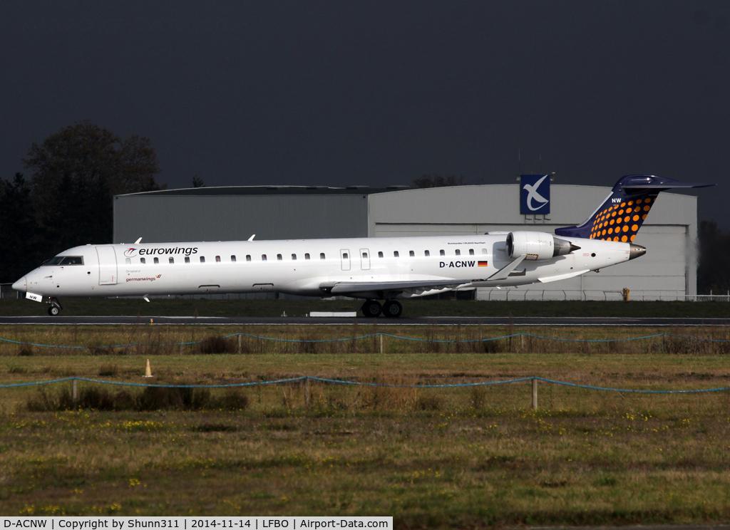 D-ACNW, 2011 Bombardier CRJ-900LR (CL-600-2D24) C/N 15269, Ready for take off rwy 32R