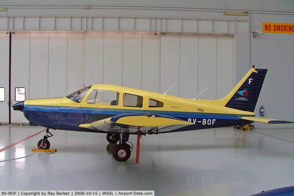 9V-BOF, Piper PA-28-161 Warrior II C/N 2816081, Piper PA-28-161 Warrior II [2816081] (Singapore Youth Flying Club) Seletar~9V 15/10/2006