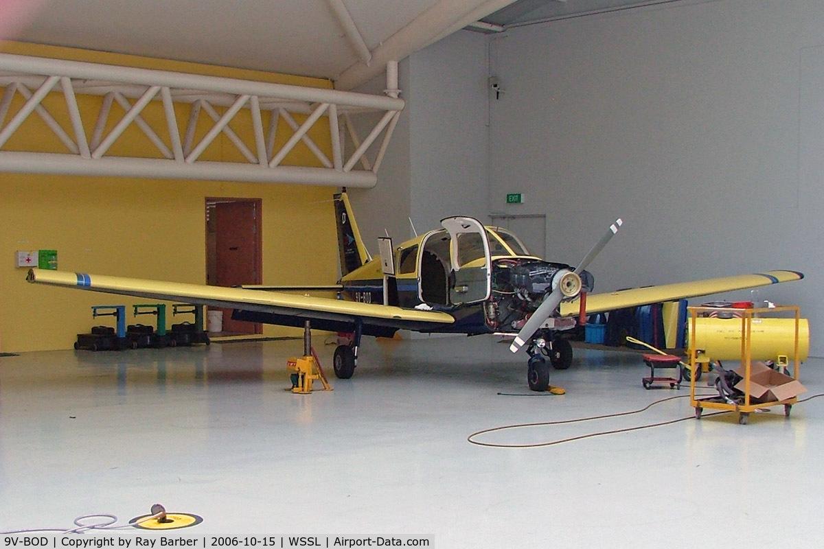 9V-BOD, Piper PA-28-161 Warrior II C/N 2816079, Piper PA-28-161 Warrior II [2816079] (Singapore Youth Flying Club) Seletar~9V 15/10/2006