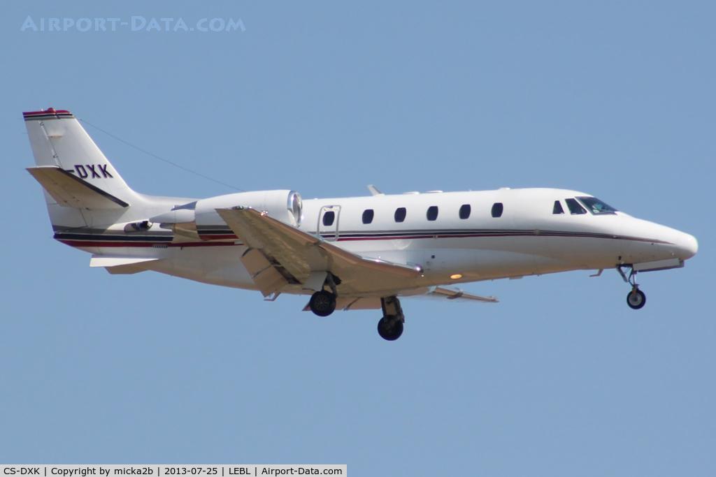 CS-DXK, 2006 Cessna 560XL Citation XLS C/N 560-5633, Landing