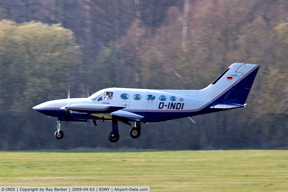 D-INDI, Cessna 421B Golden Eagle C/N 421B0317, Cessna 421B Golden Eagle [421B-0317] Friedrichshafen~D 03/04/2009