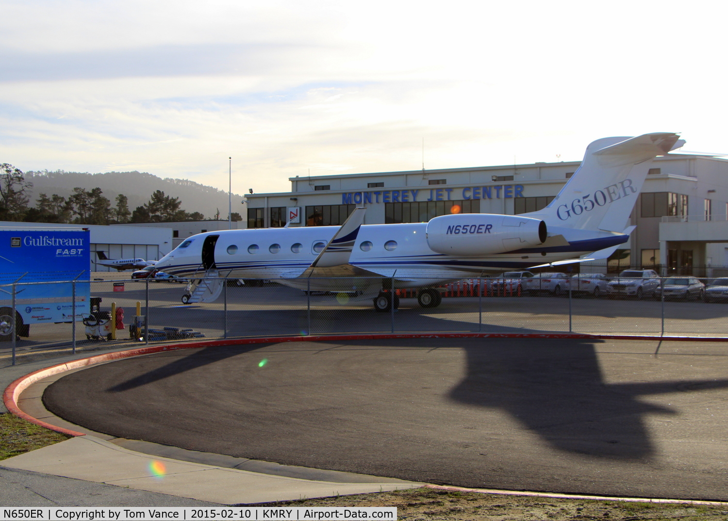 N650er 2017 Gulfstream Vi G650 C N 6084 At Monterey Jet Center During
