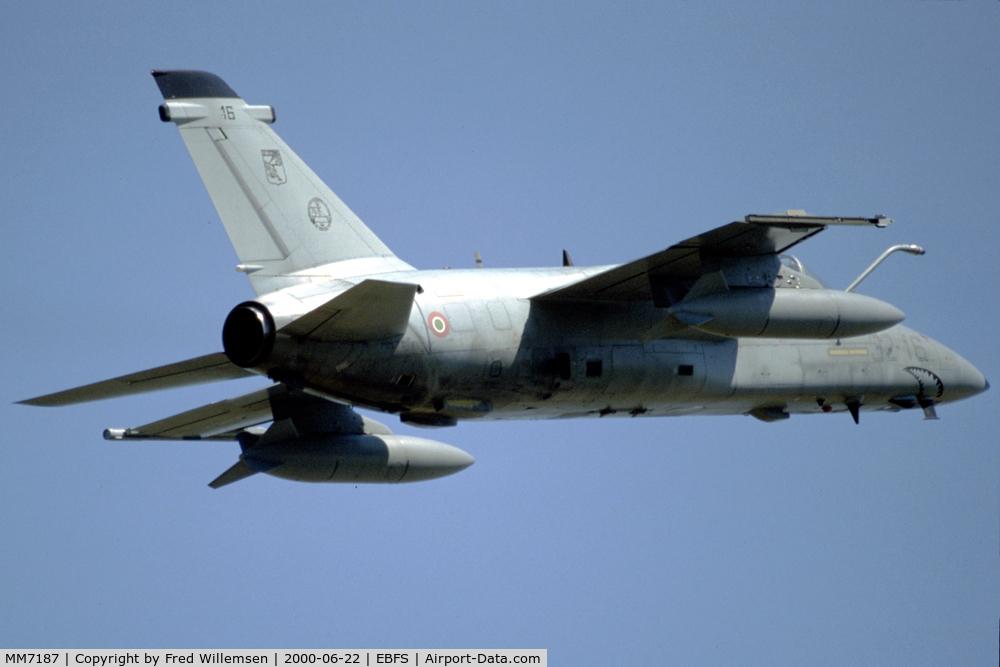 MM7187, AMX International AMX C/N IX099, 13Grupo aircraft