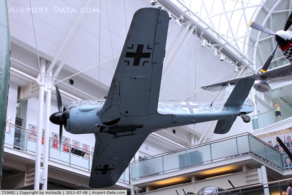 733682, 1944 Focke-Wulf Fw-190A-8 C/N 733682, Preserved