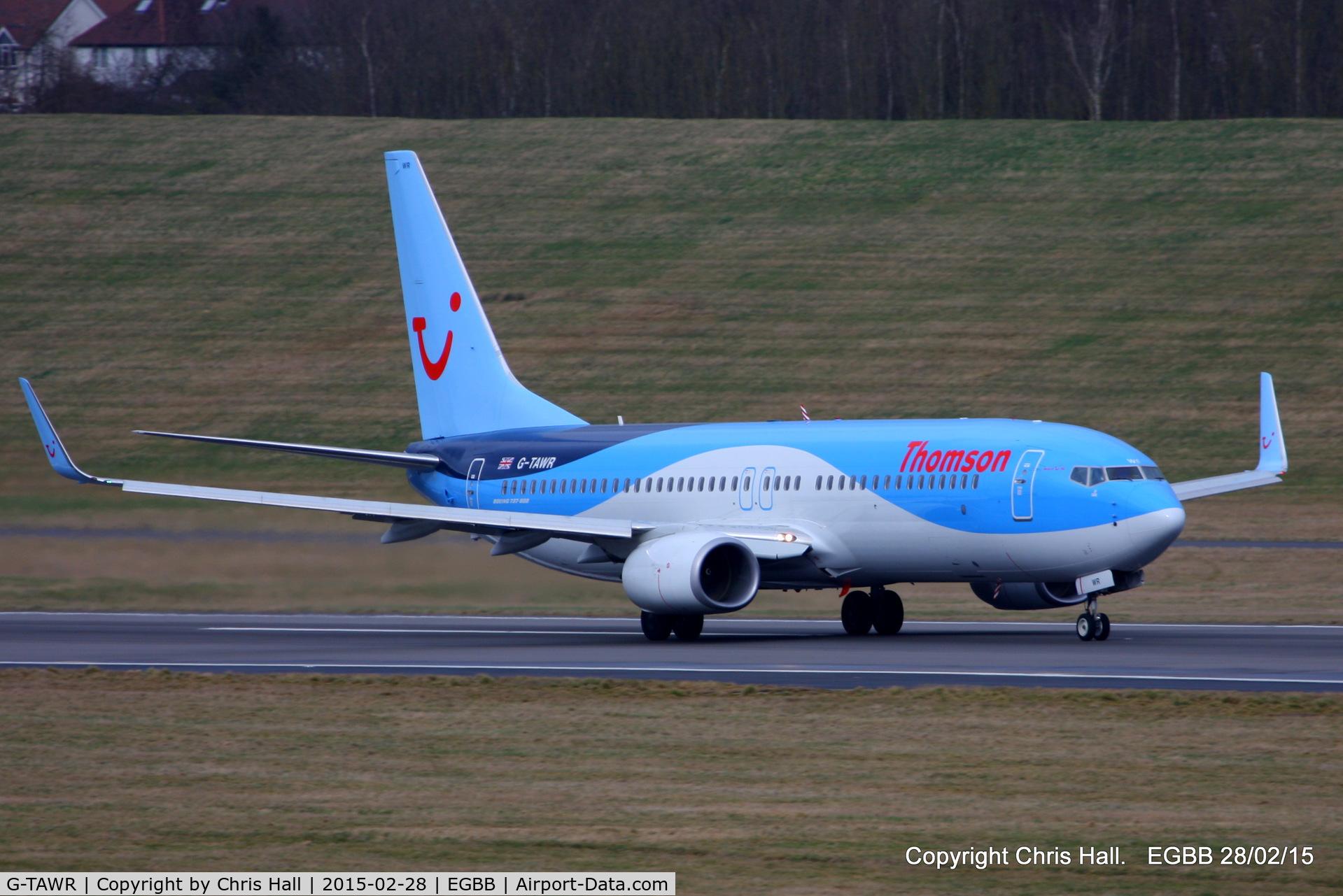G-TAWR, 2013 Boeing 737-8K5 C/N 37256, Thomson