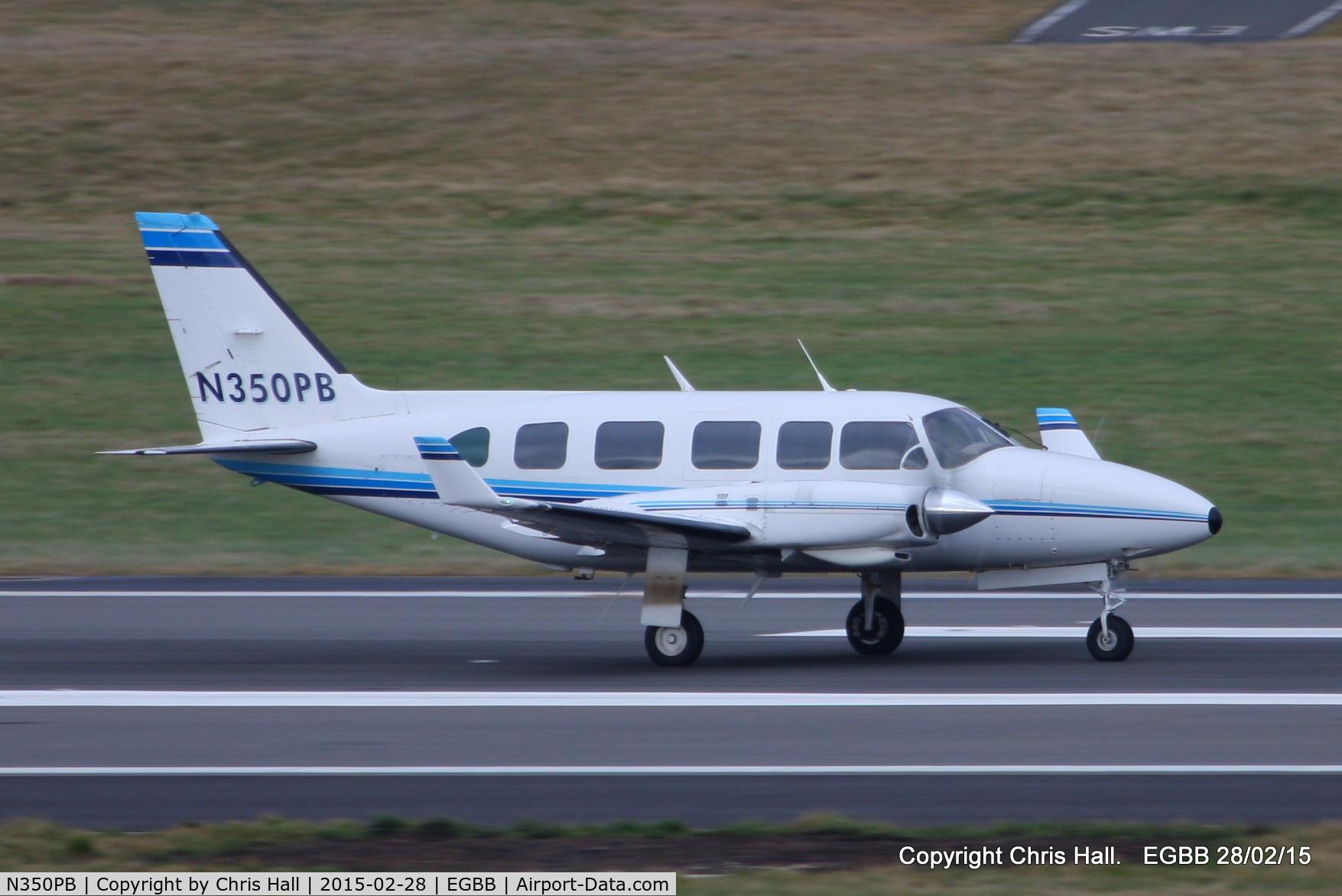 N350PB, 1982 Piper PA-31-350 Chieftain C/N 31-8252028, PFB Self Drive Inc