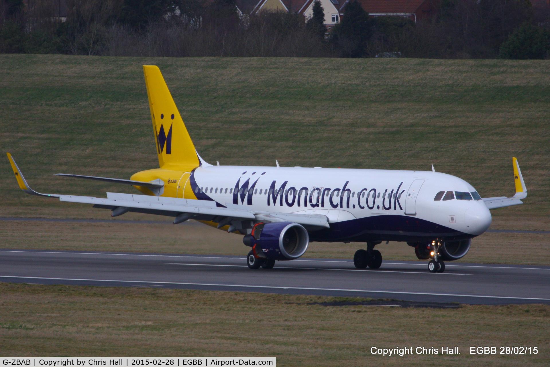 G-ZBAB, 2013 Airbus A320-214 C/N 5581, Monarch