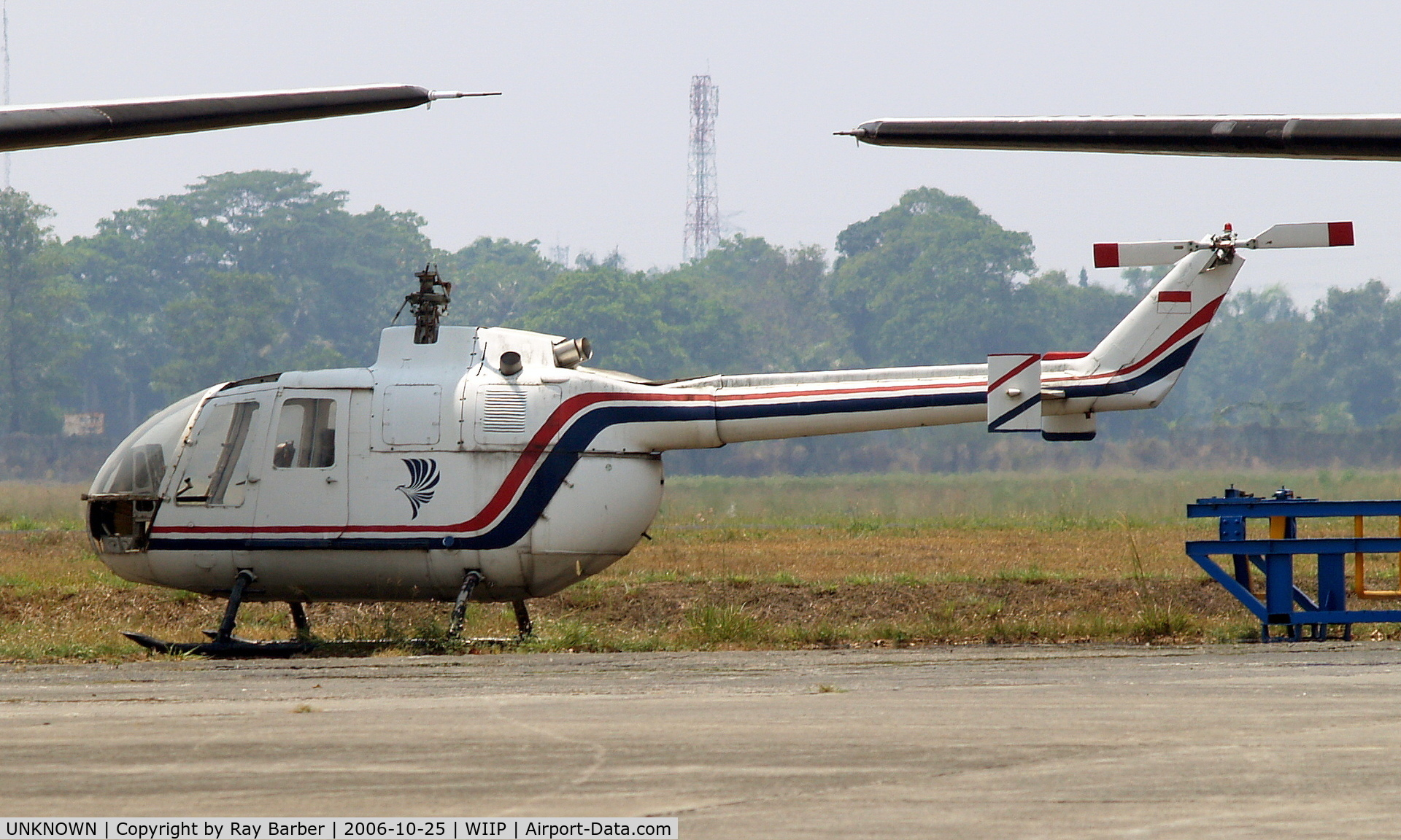 UNKNOWN, Helicopters Various C/N unknown, Un-identified Helicopter Pondok Cabe~PK 25/10/2006 (WIIP)