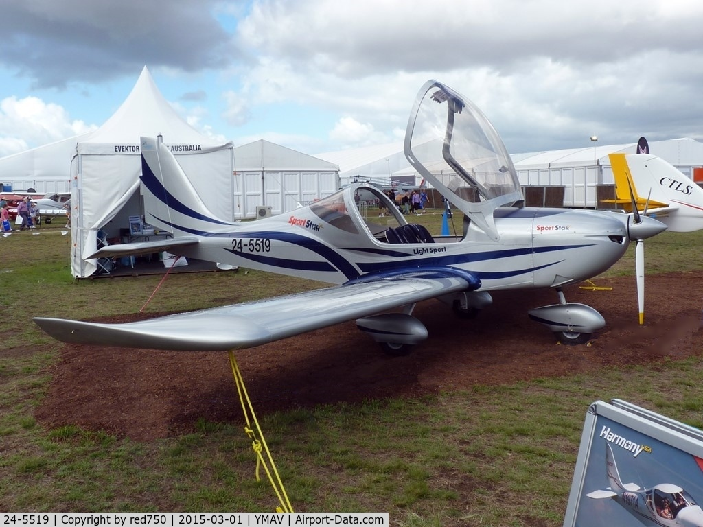24-5519, Evektor Harmony C/N Not found 24-5519, Evektor SportStar 24-5519 at Avalon 2015
