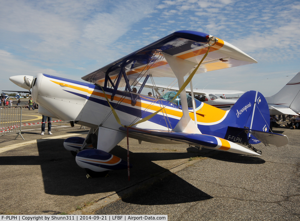 F-PLPH, EAA Acro Sport II C/N 1222, Participant of the LFBF Airshow 2014 - static airframe