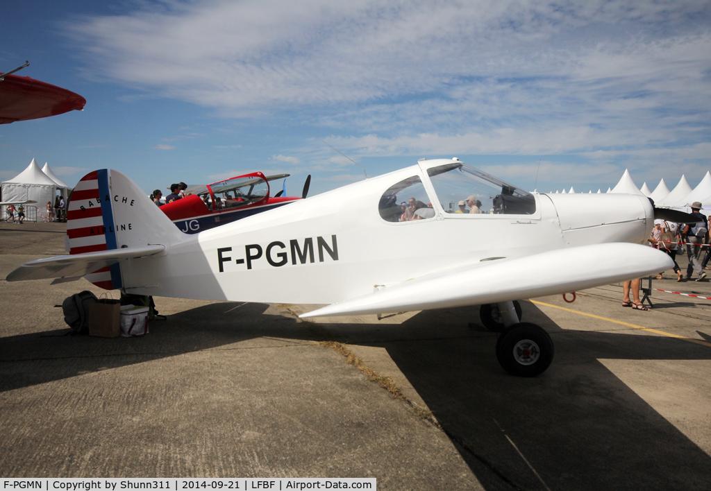 F-PGMN, Gardan GY-201 Minicab C/N A-124, Participant of the LFBF Airshow 2014 - static airframe