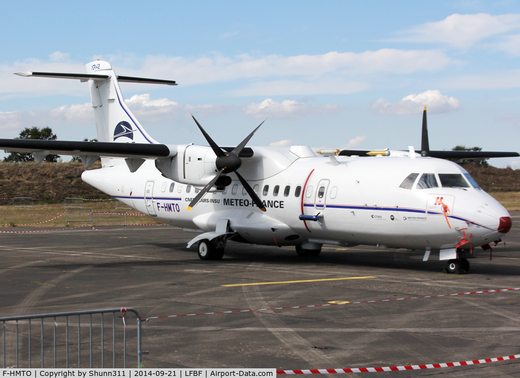 F-HMTO, 1988 ATR 42-320 C/N 078, Participant of the LFBF Airshow 2014 - static airframe