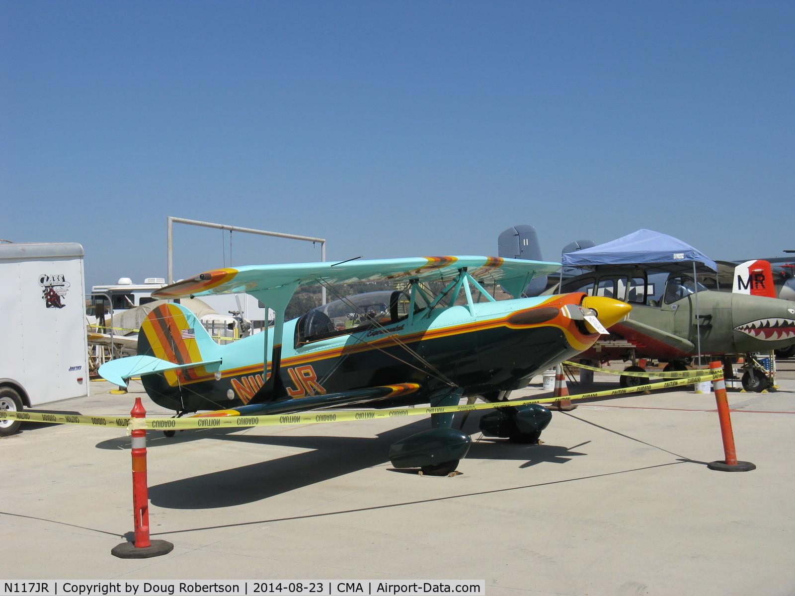 N117JR, 1986 Steen Skybolt C/N 1001 (N117JR), 1986 Ramsey STEEN SKYBOLT, Lycoming IO-360 180 Hp, now lady owned/flown