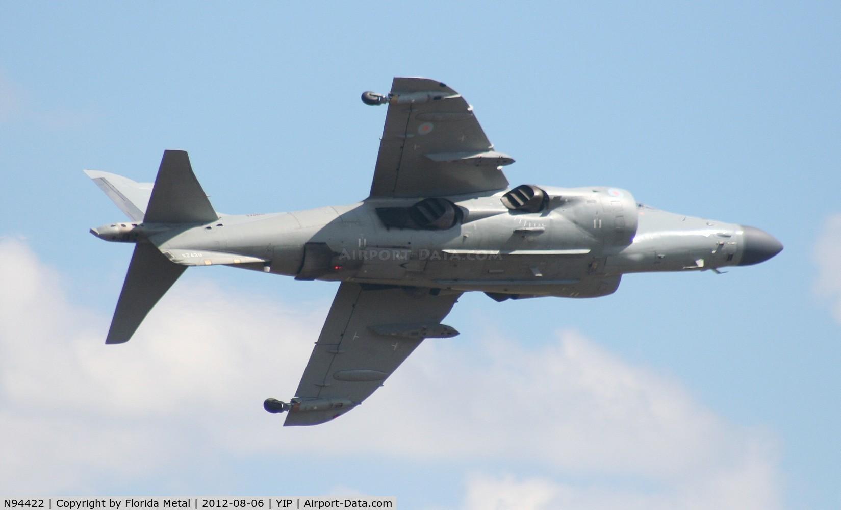 N94422, 1979 British Aerospace Sea Harrier F/A.2 C/N 41H-912002/DB2, Sea Harrier