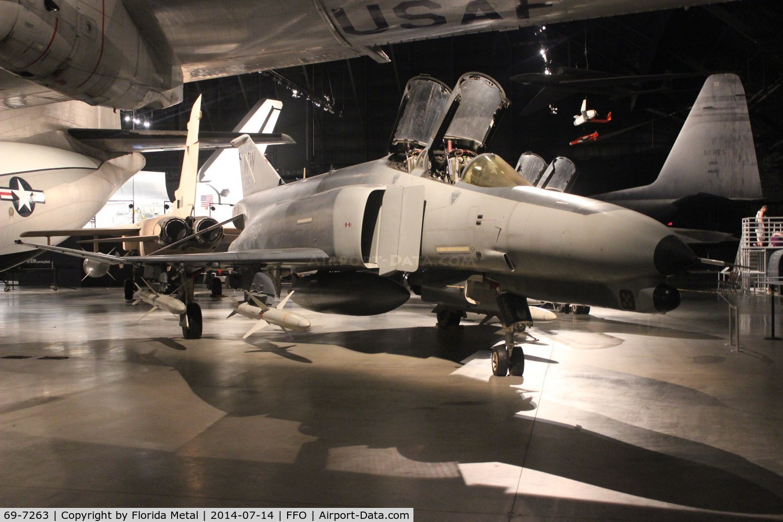 69-7263, 1969 McDonnell Douglas F-4G Phantom II C/N 3947, F-4G Phantom II