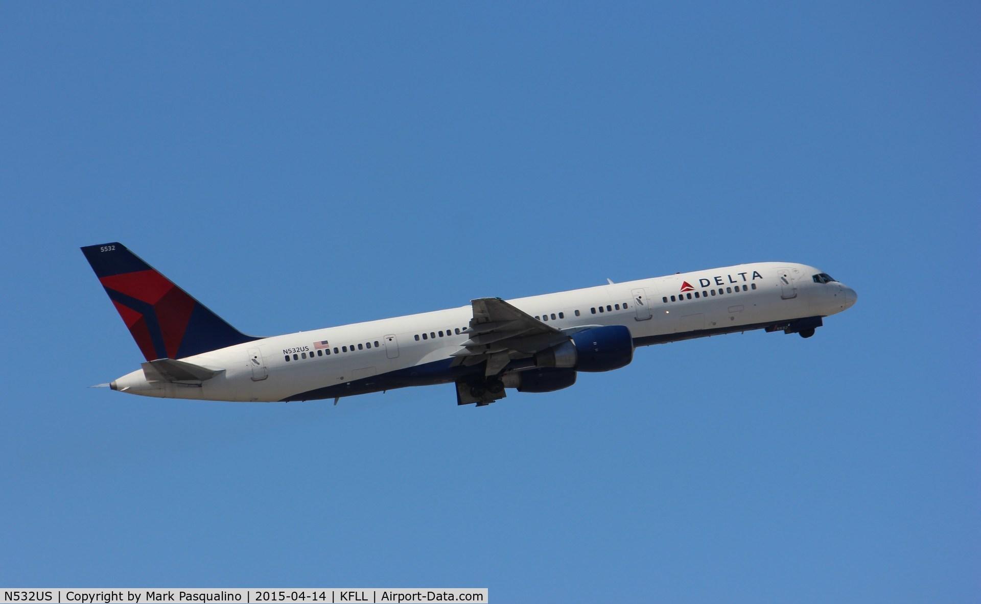 N532US, 1988 Boeing 757-251 C/N 24263, Boeing 757-200