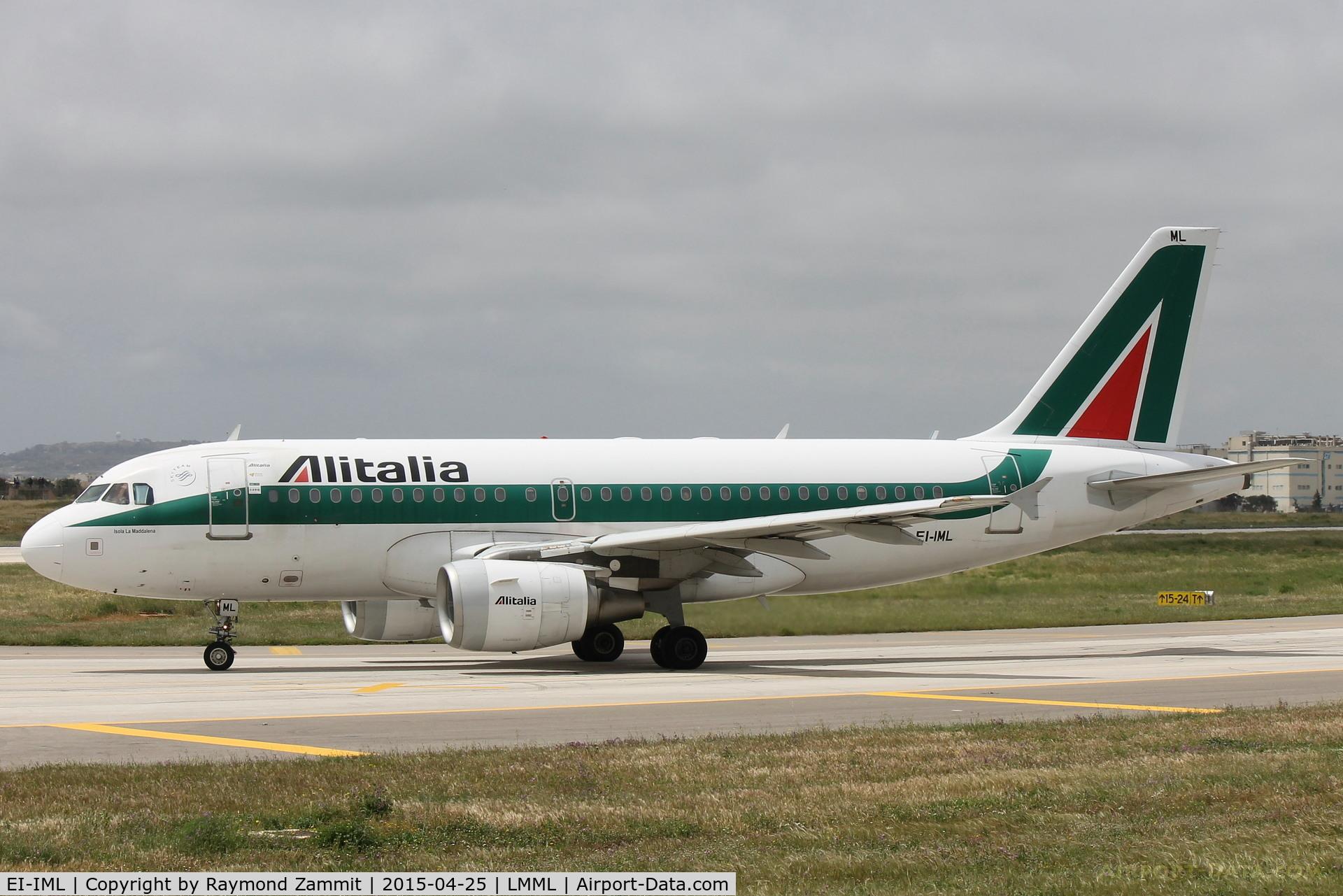 EI-IML, 2004 Airbus A319-112 C/N 2127, A319 EI-IML Alitalia