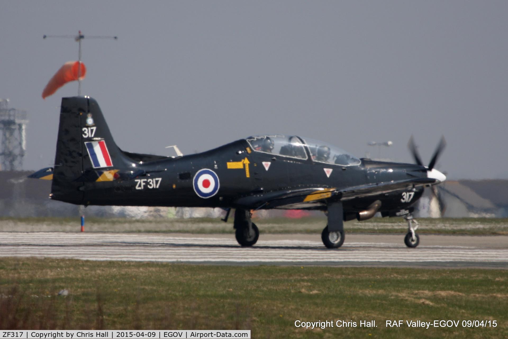 ZF317, Short S-312 Tucano T1 C/N S098/T69, RAF 72 (R) Sqn