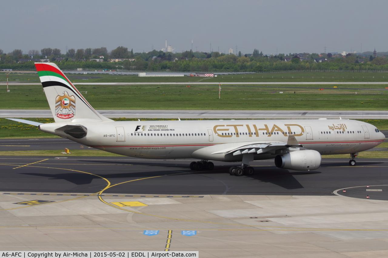A6-AFC, 2010 Airbus A330-343X C/N 1167, Etihad Airways, Airbus A330-343X, CN:1167