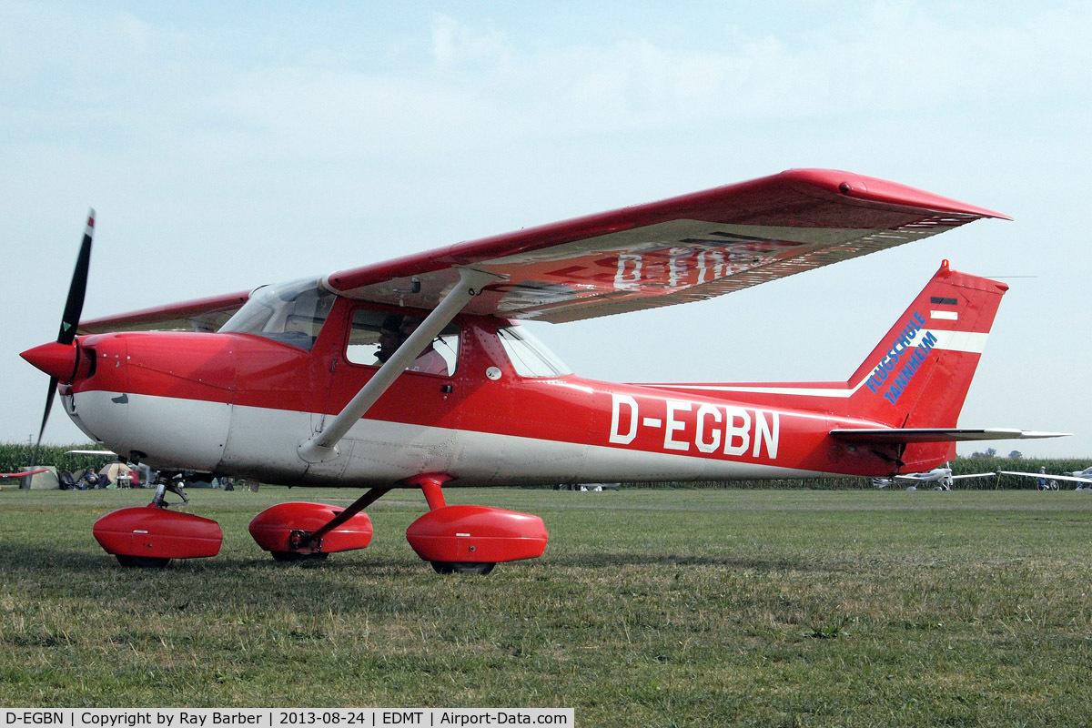 D-EGBN, Reims FRA150L Aerobat C/N 0192, R/Cessna FRA.150M Aerobat [0192] Tannheim~D 24/08/2013