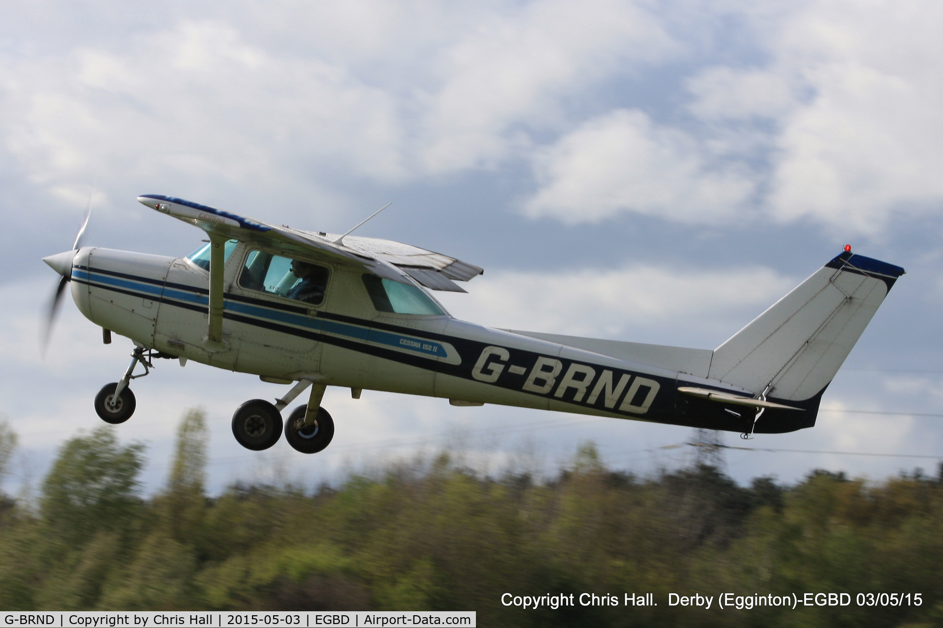 G-BRND, 1979 Cessna 152 C/N 152-83776, Derby resident