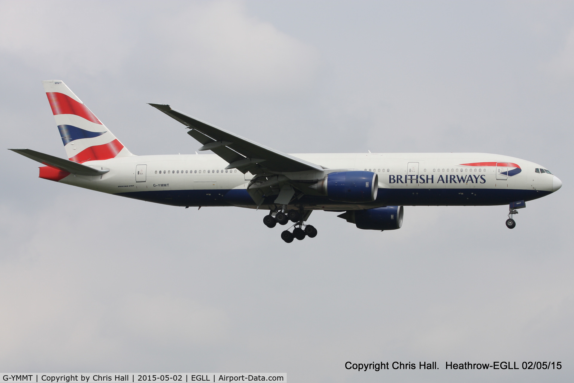 G-YMMT, 2009 Boeing 777-236/ER C/N 36518, British Airways
