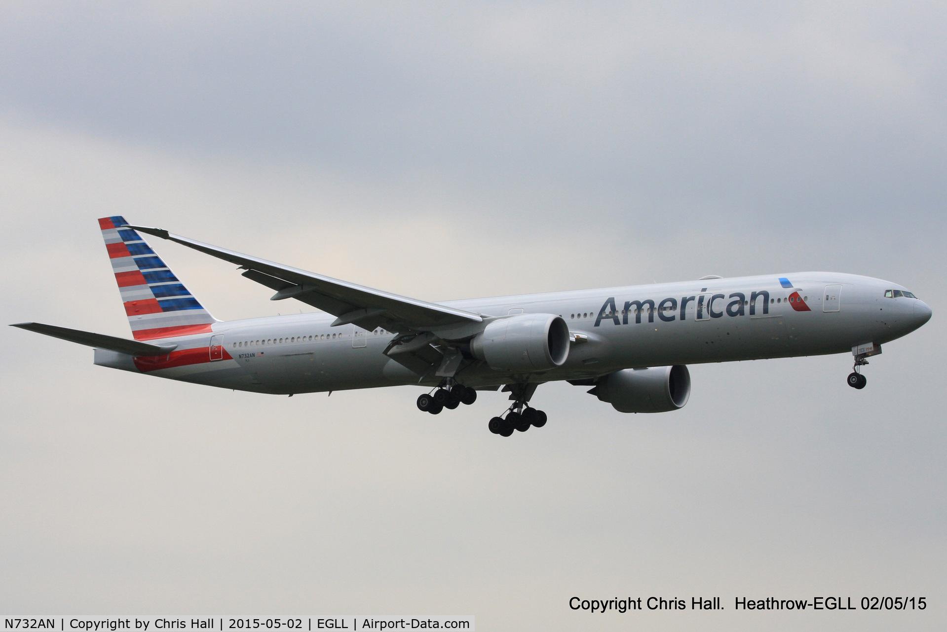 N732AN, 2014 Boeing 777-323/ER C/N 31549, American Airlines