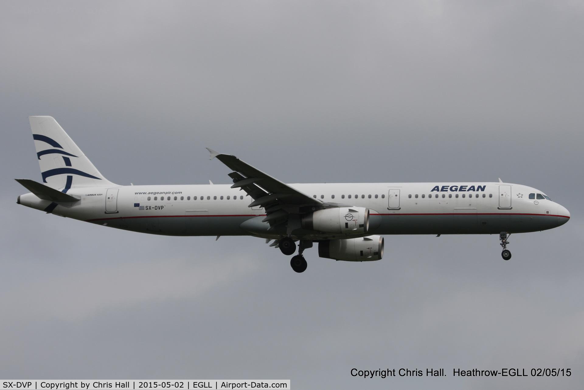SX-DVP, 2008 Airbus A321-232 C/N 3527, Aegean Airlines
