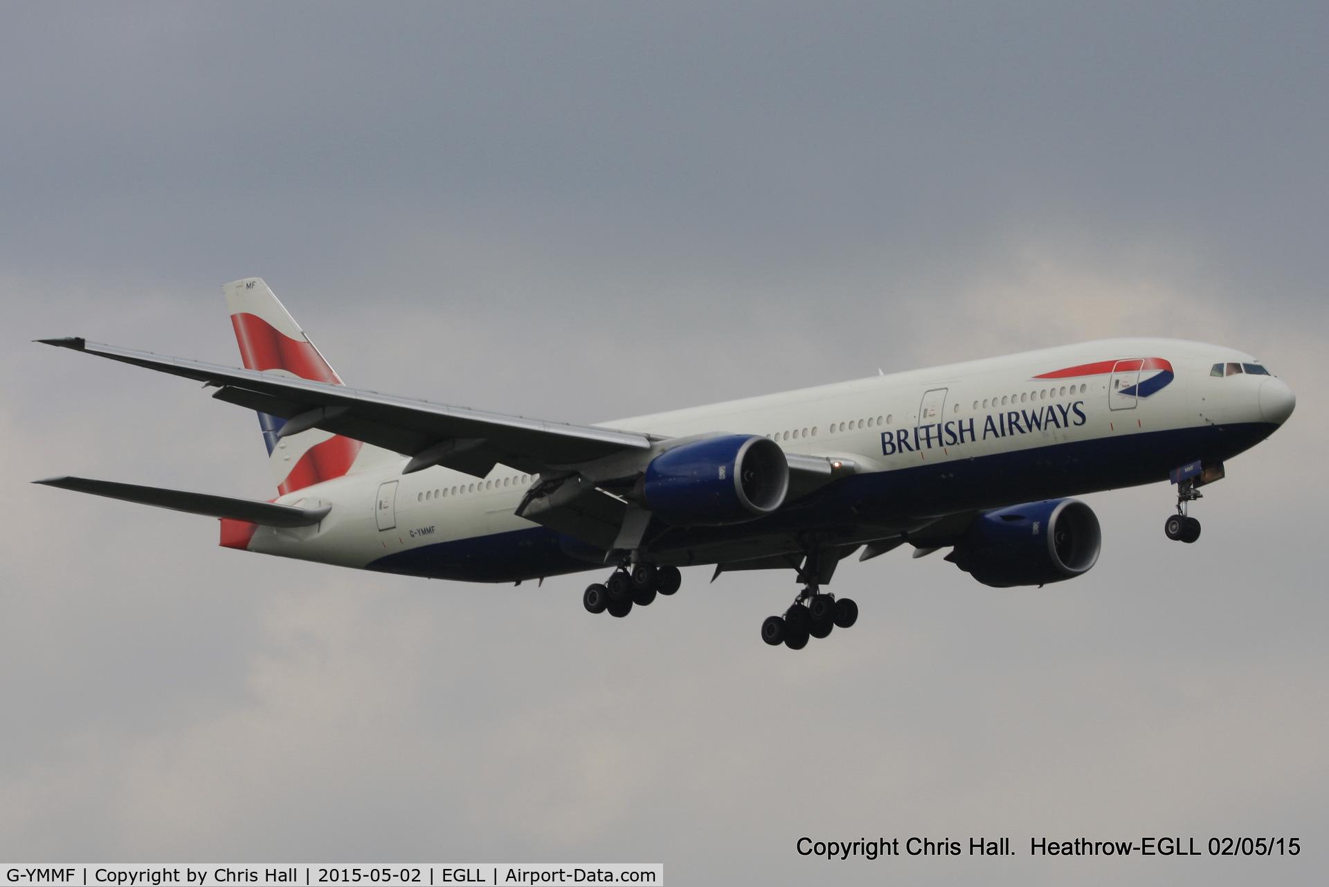 G-YMMF, 2000 Boeing 777-236 C/N 30307, British Airways
