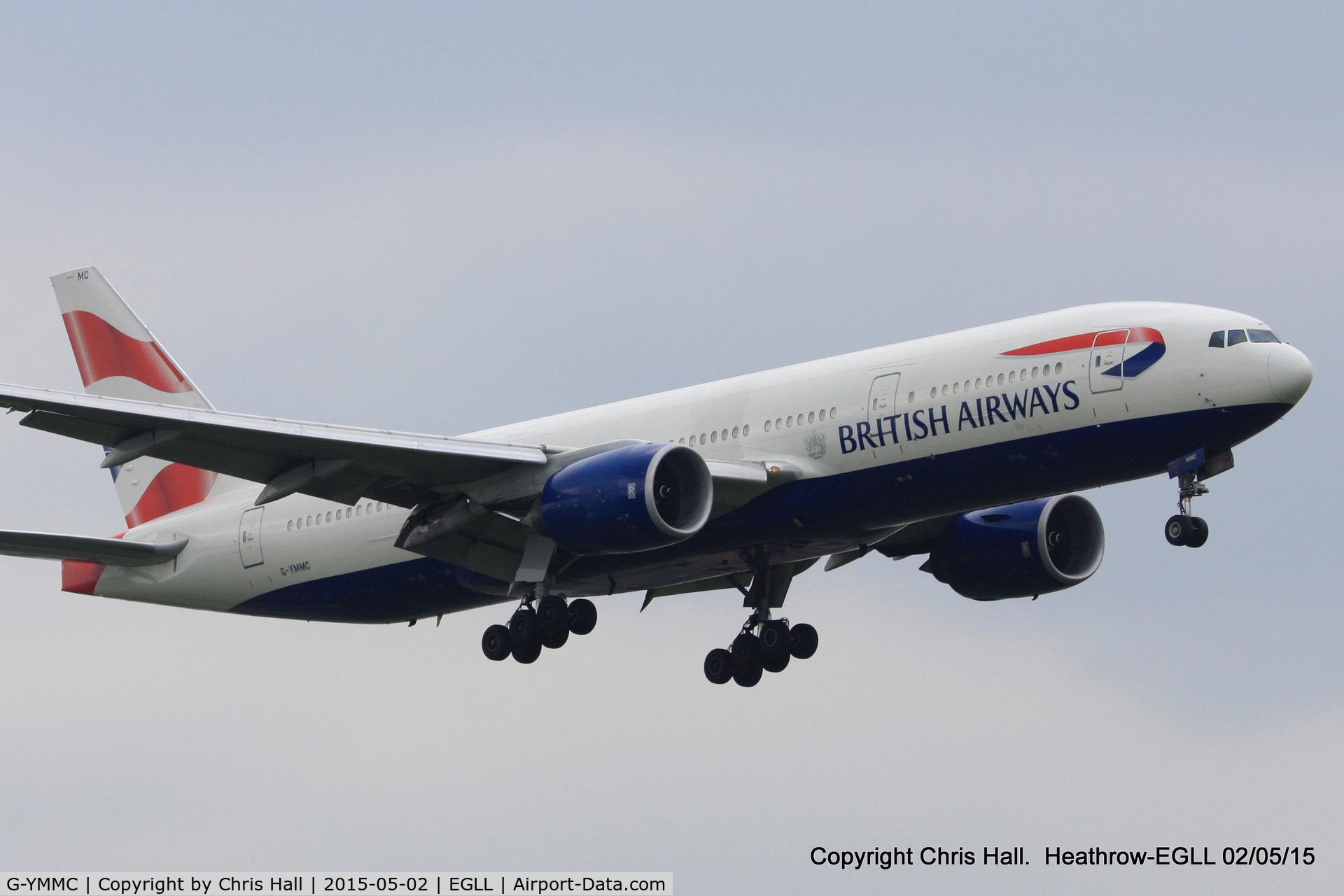 G-YMMC, 2000 Boeing 777-236 C/N 30304, British Airways