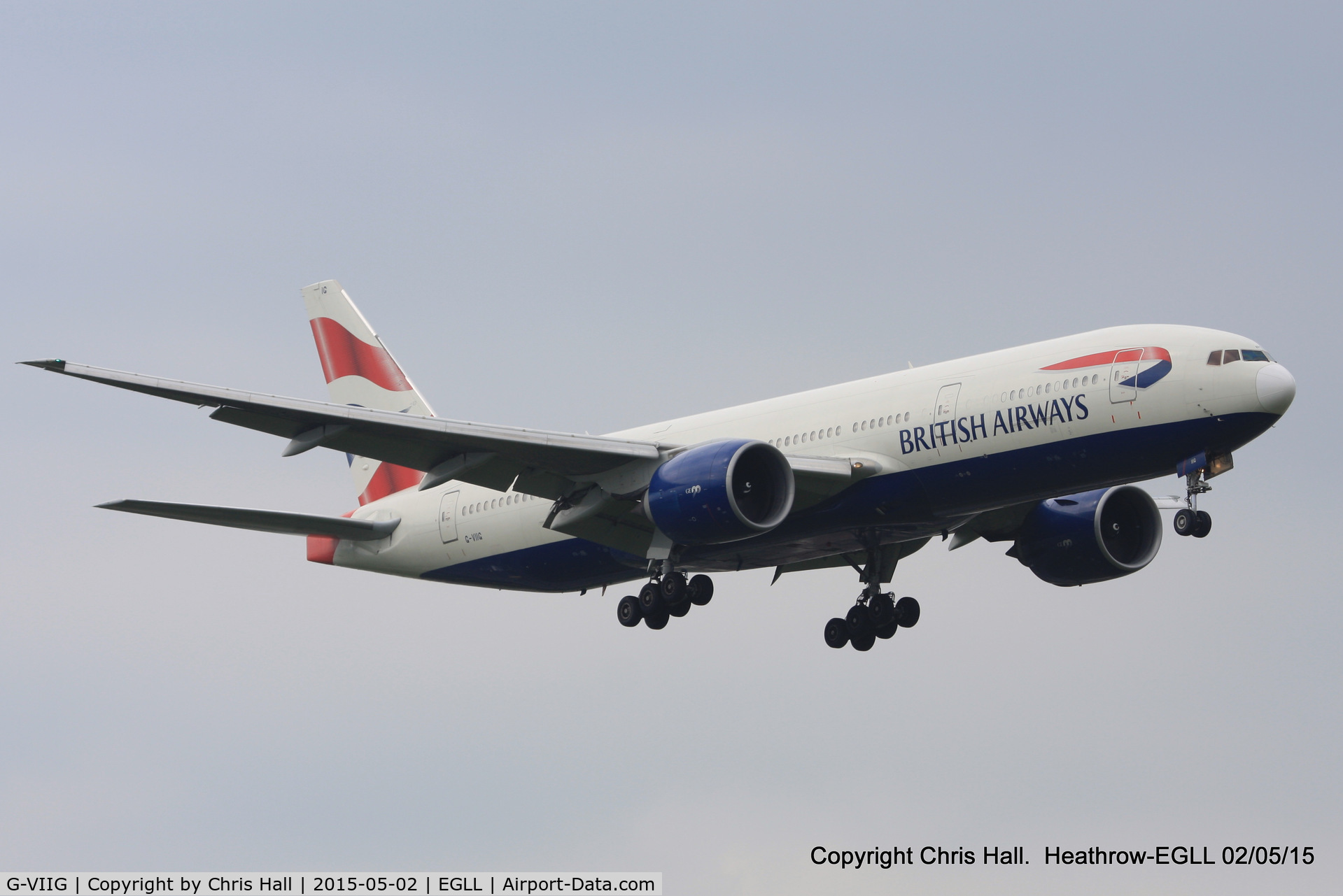 G-VIIG, 1997 Boeing 777-236/ER C/N 27489, British Airways